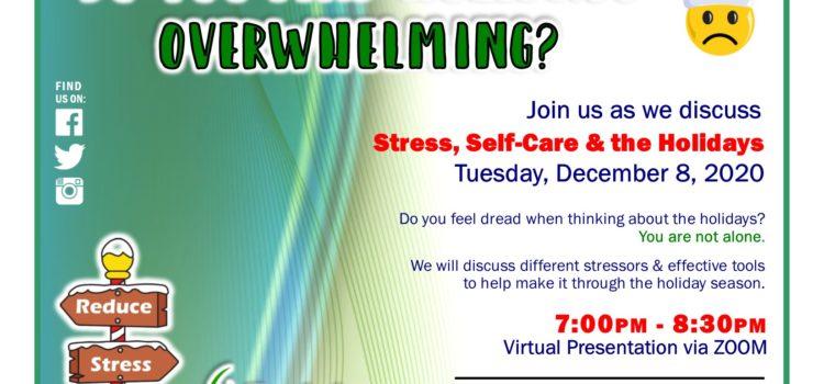 December Virtual Holiday Stress Workshop